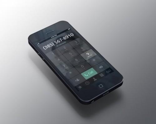 iPhone Dialer App